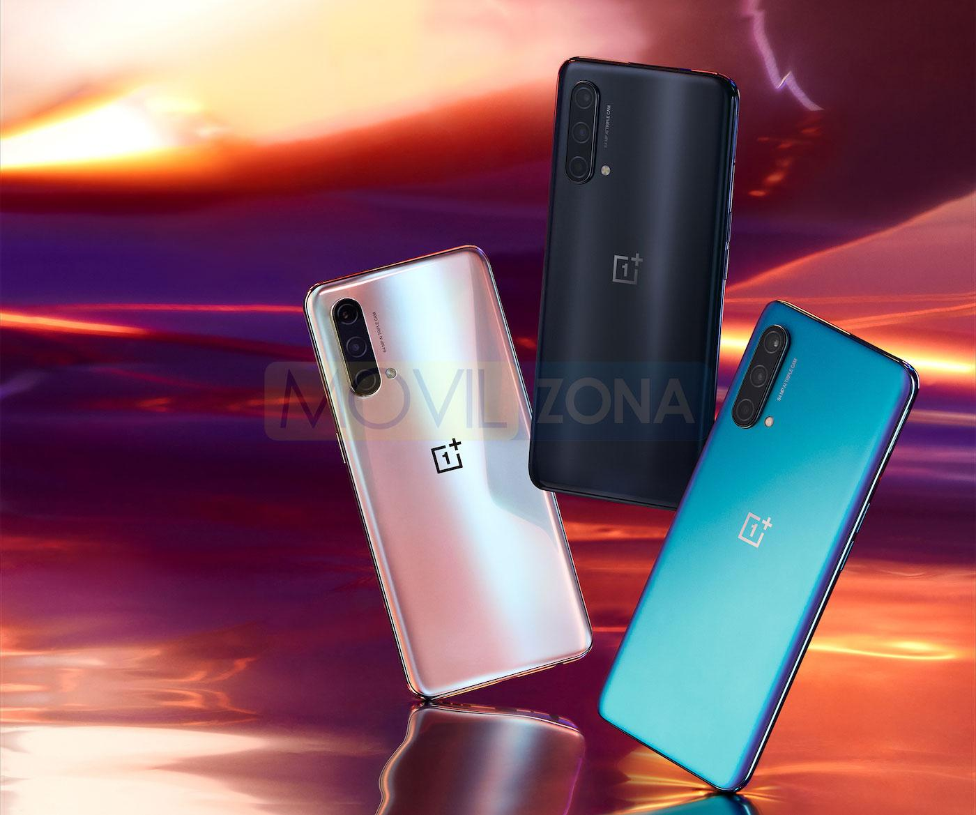 OnePlus Nord CE 5G colores