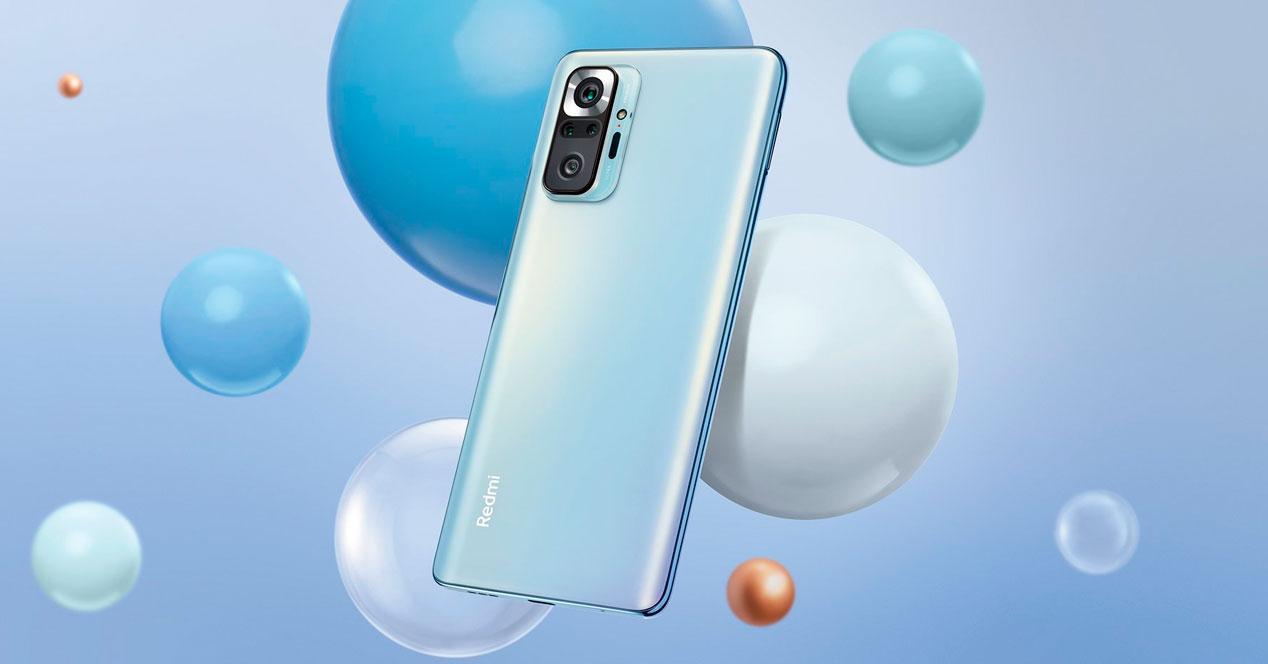 Redmi Note 10 Pro azul