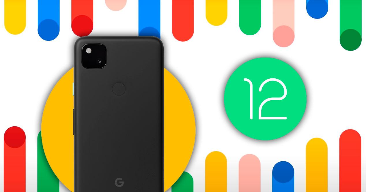 Android 12 Google Pixel 4a