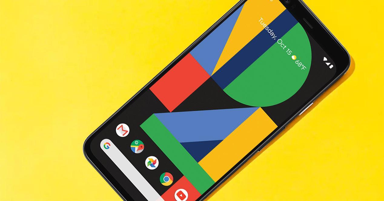 Google Pixel con apps