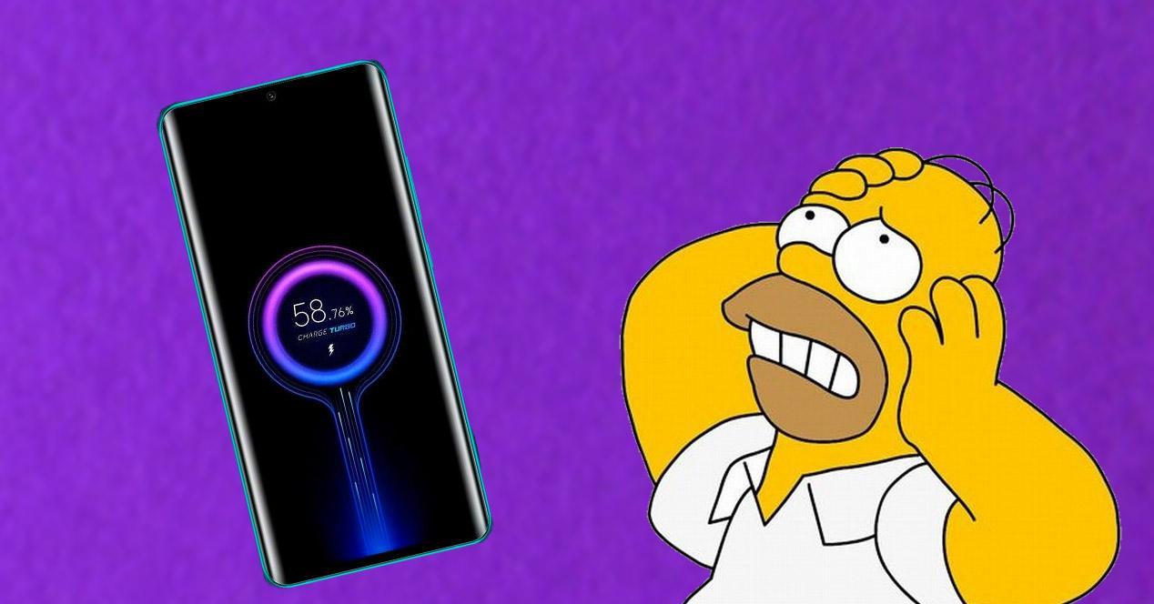 Xiaomi cargando