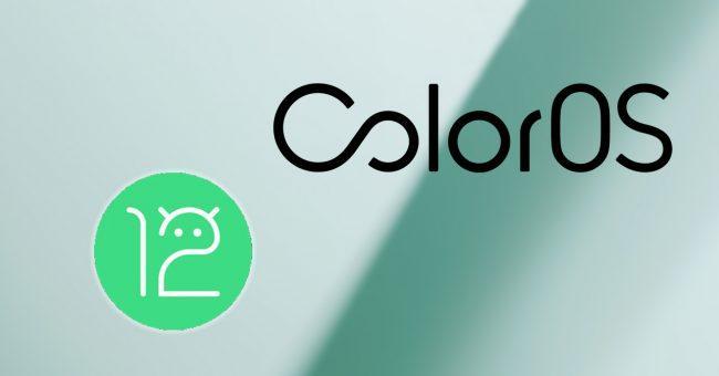 ColorOS 12 y Android 12