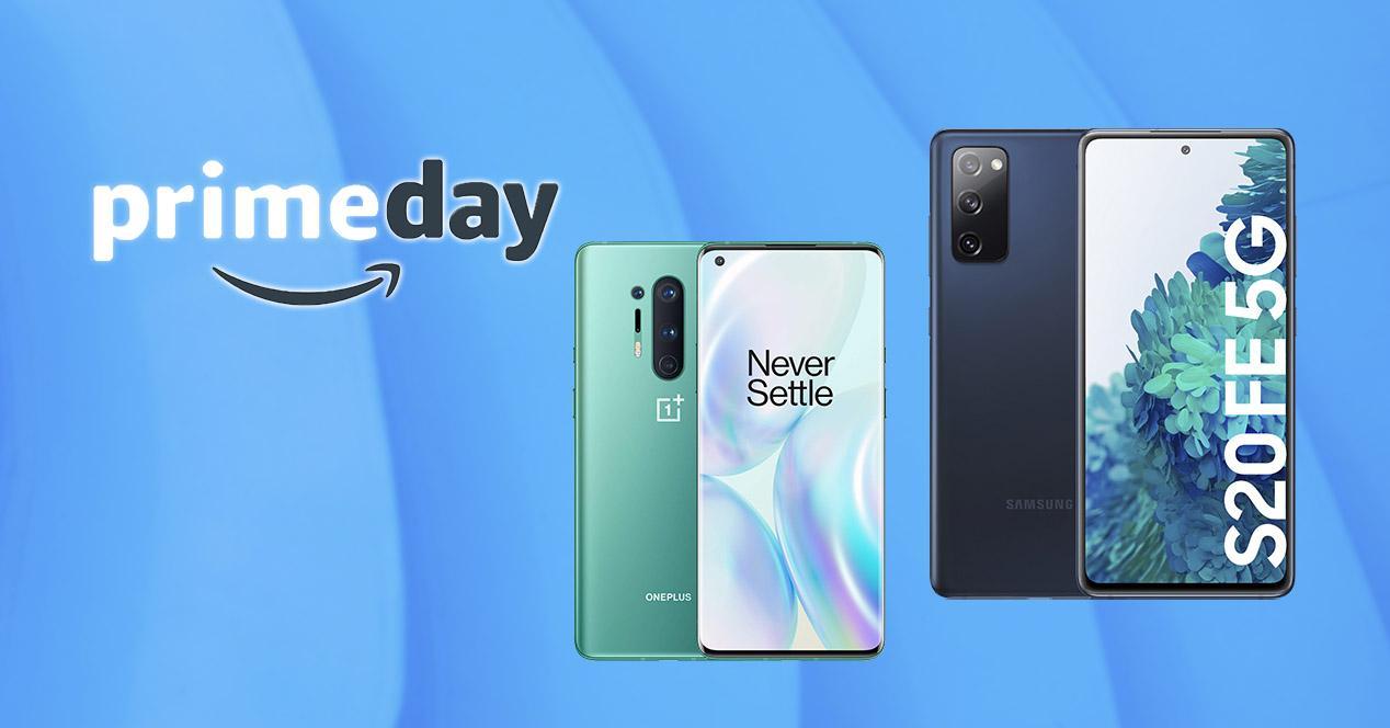 Móviles alta gama rebajados Amazon Prime Day 2021