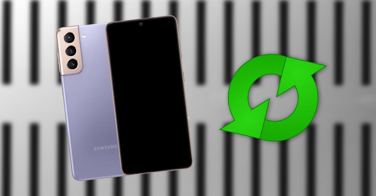 Actualización Samsung Galaxy S21