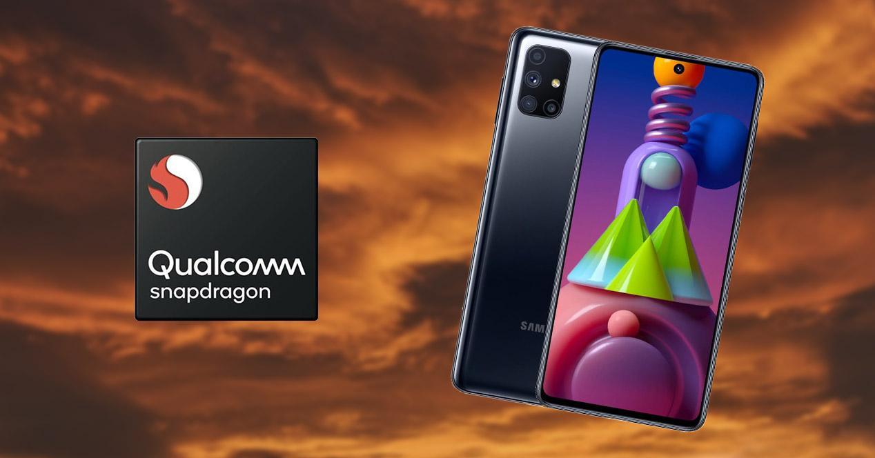 Móvil Samsung con Snapdragon