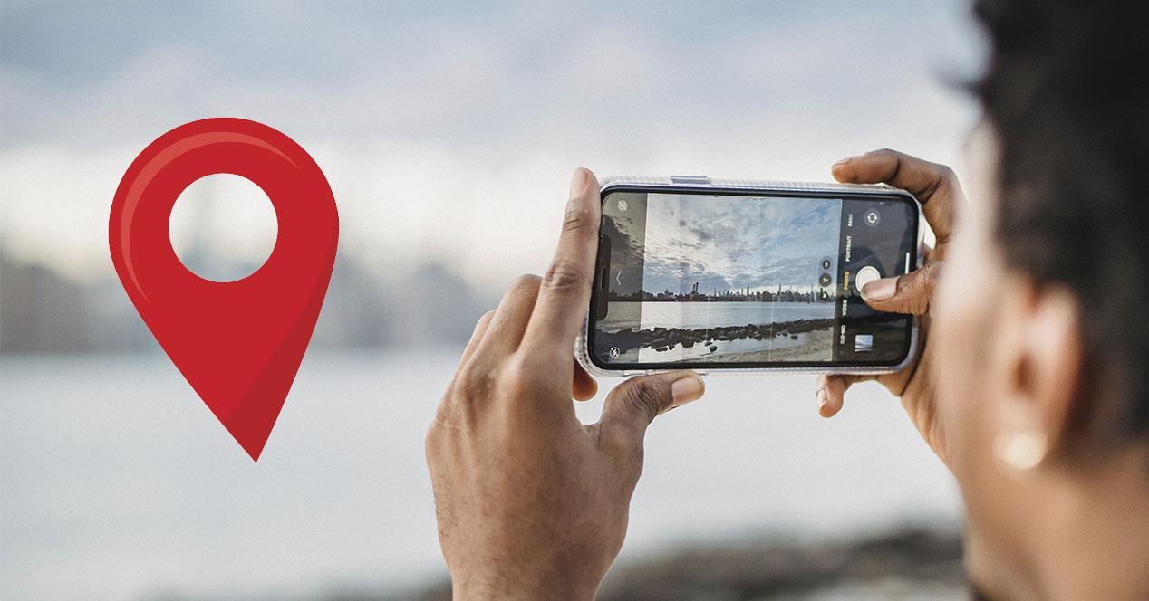 Ubicación de las fotos del móvil