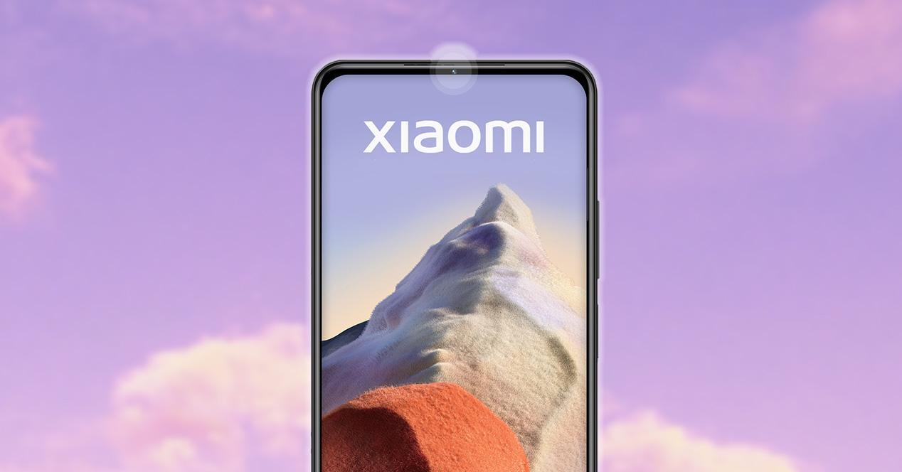 Cámara frontal en el bisel de Xiaomi