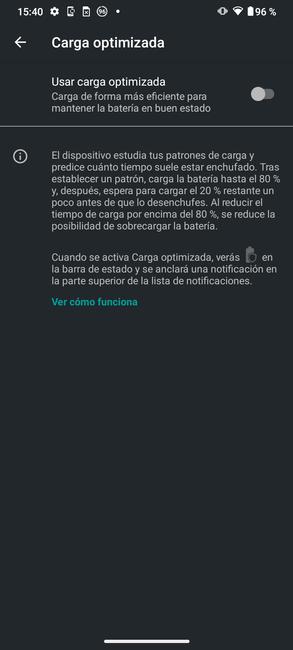 Optimering af Moto G50