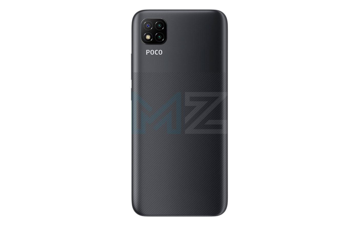Poco C3 negro