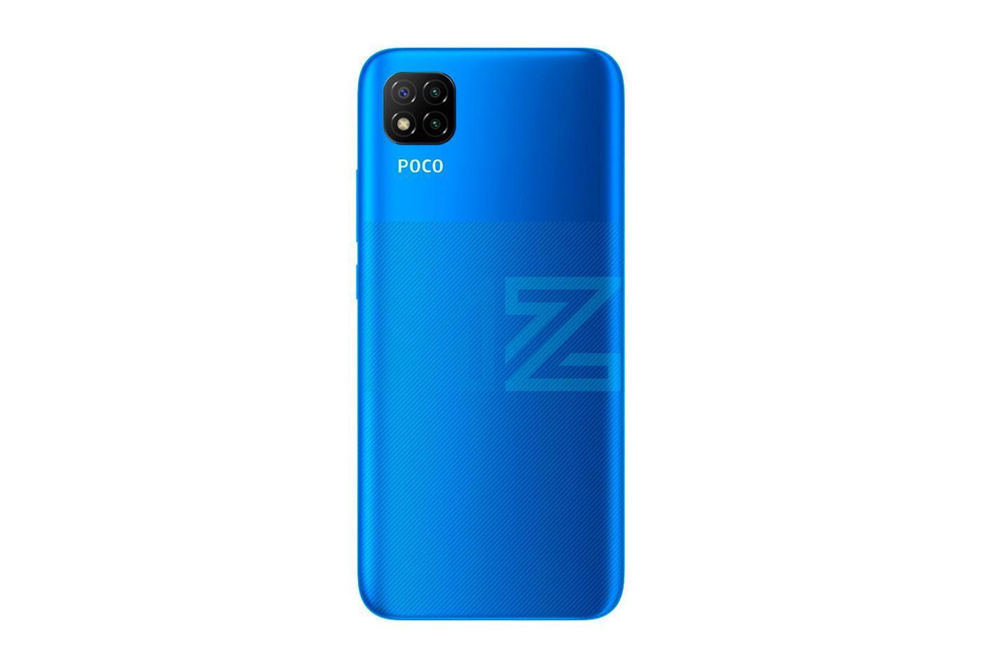 Poco C3 azul