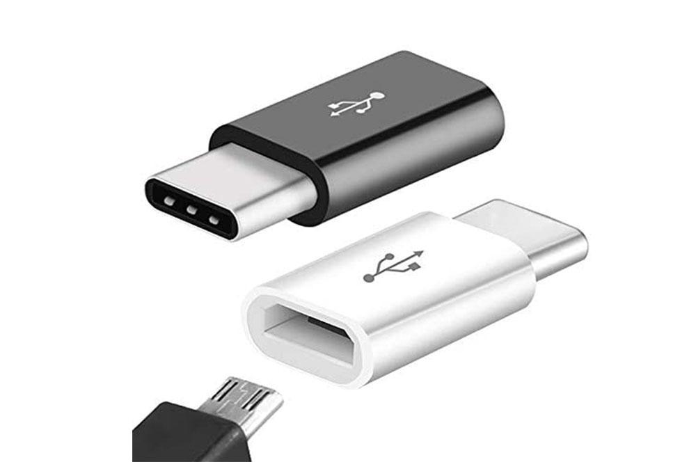 Adaptador microUSB a USB tipo C