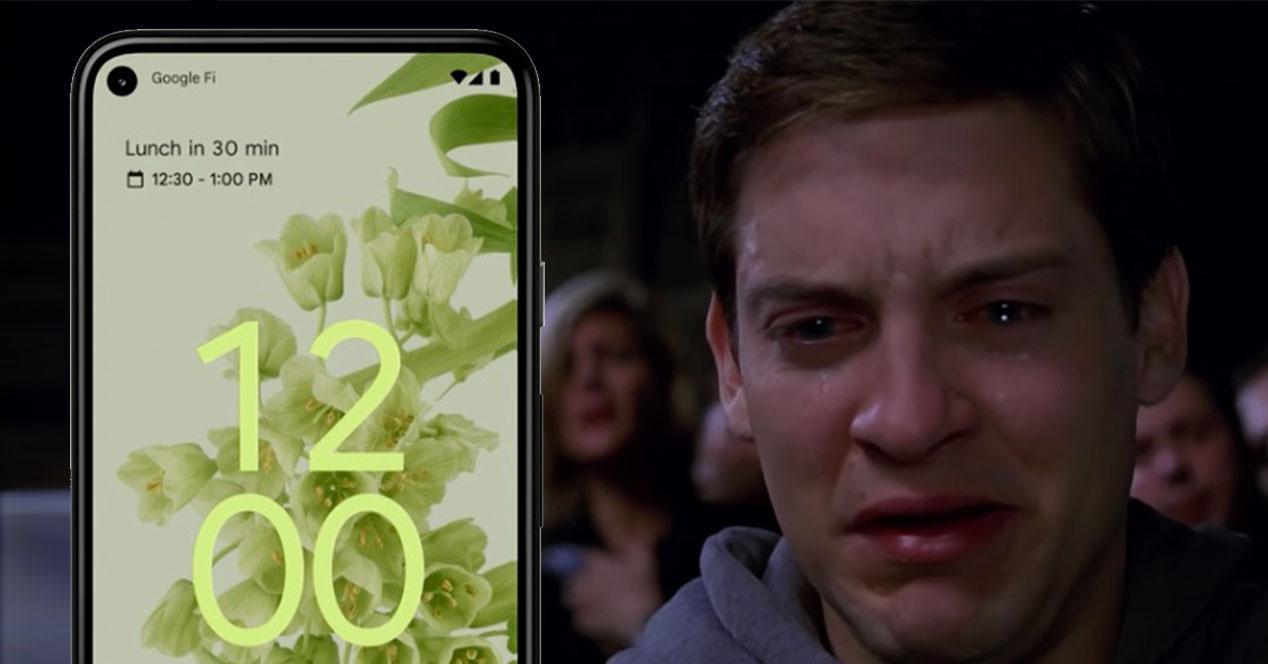 android 12 llorar