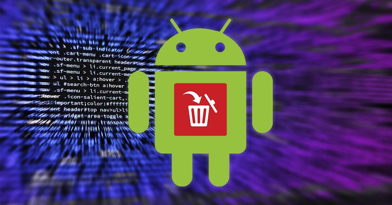 Desinstalar apps de Android