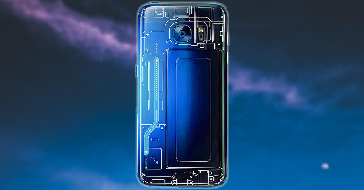 Cámara vapor de móviles