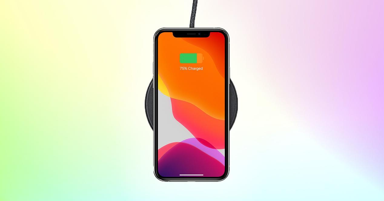 Carga inalámbrica inversa iPhone 13