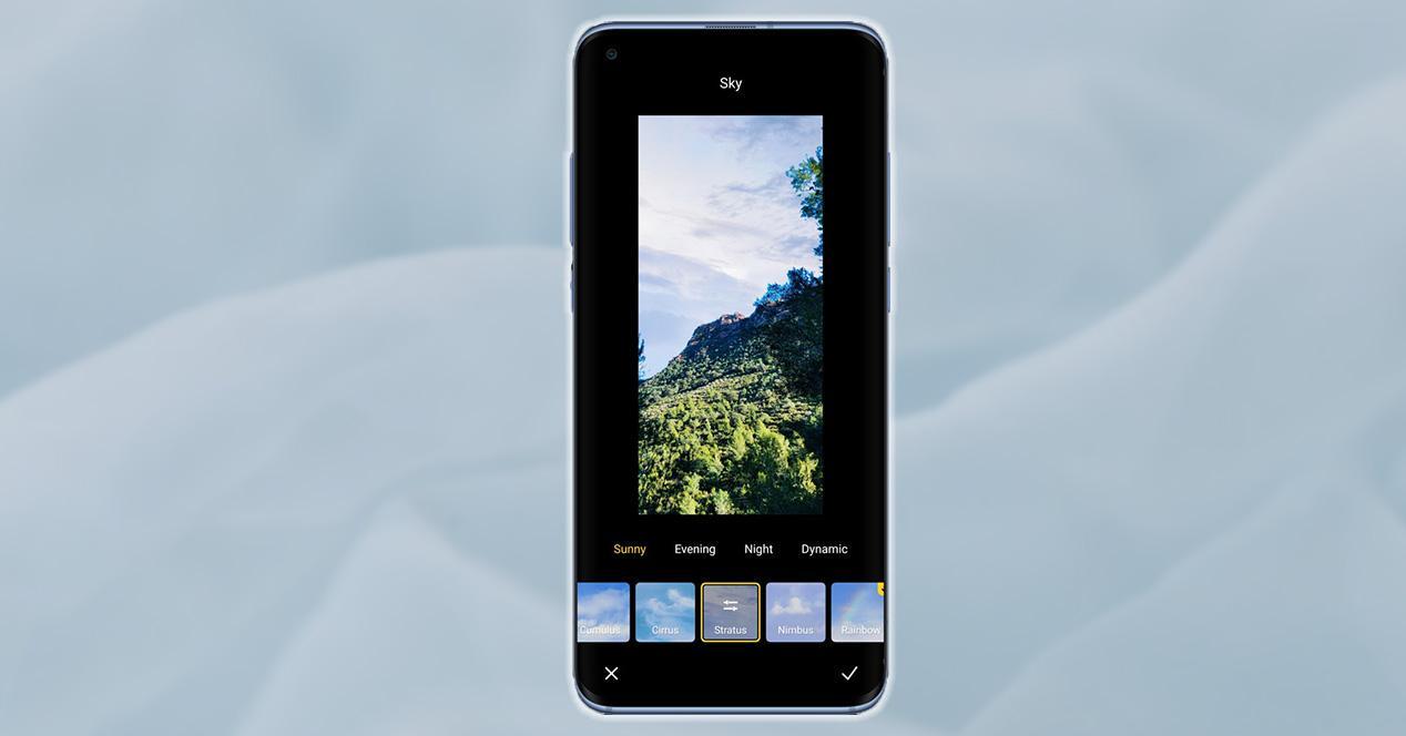 Edición de imágenes en Xiaomi