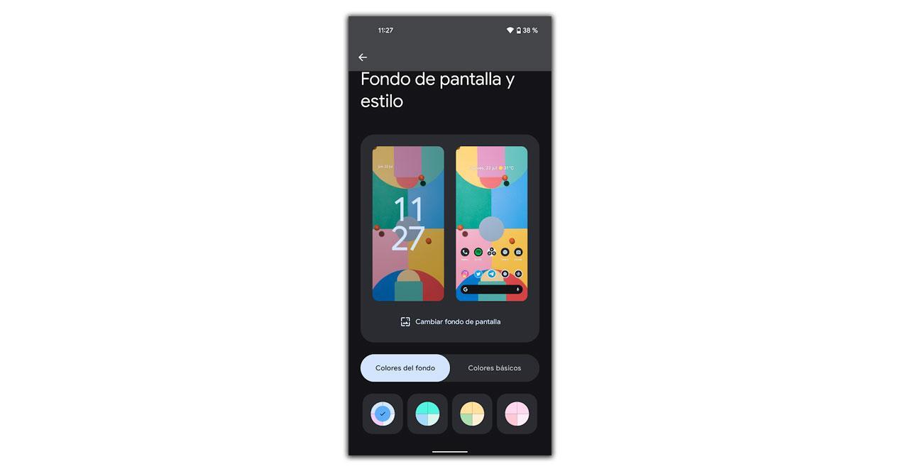 estilos android 12