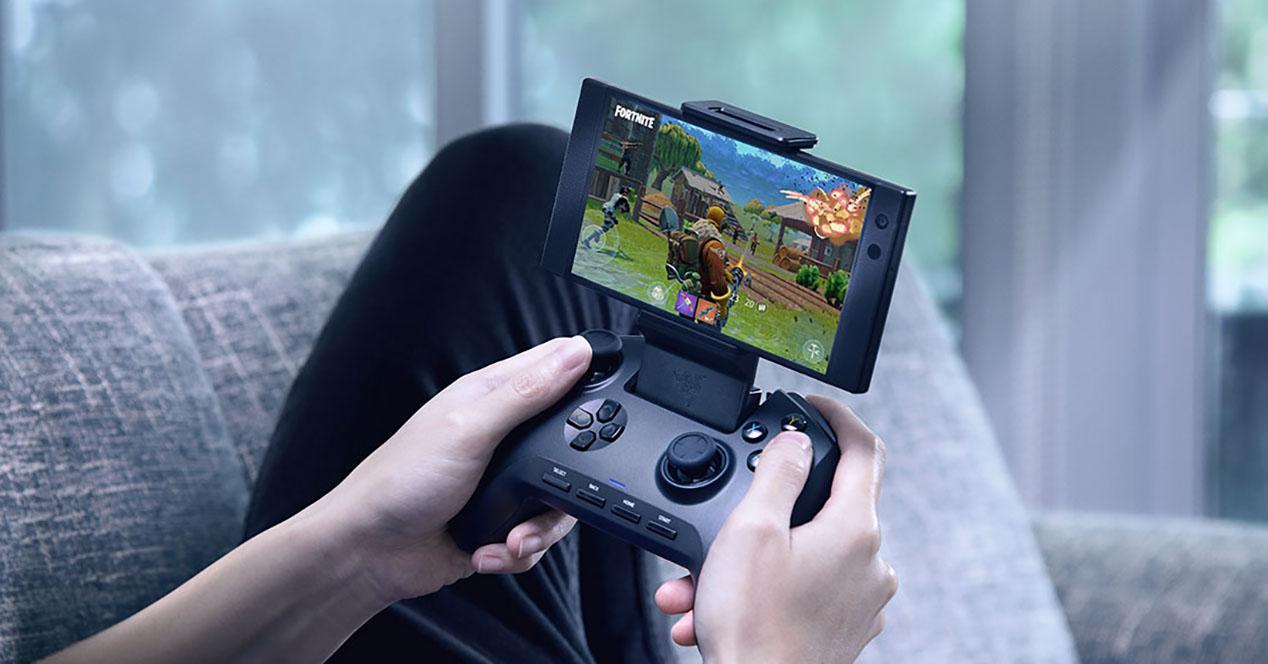 Gamepad para móviles