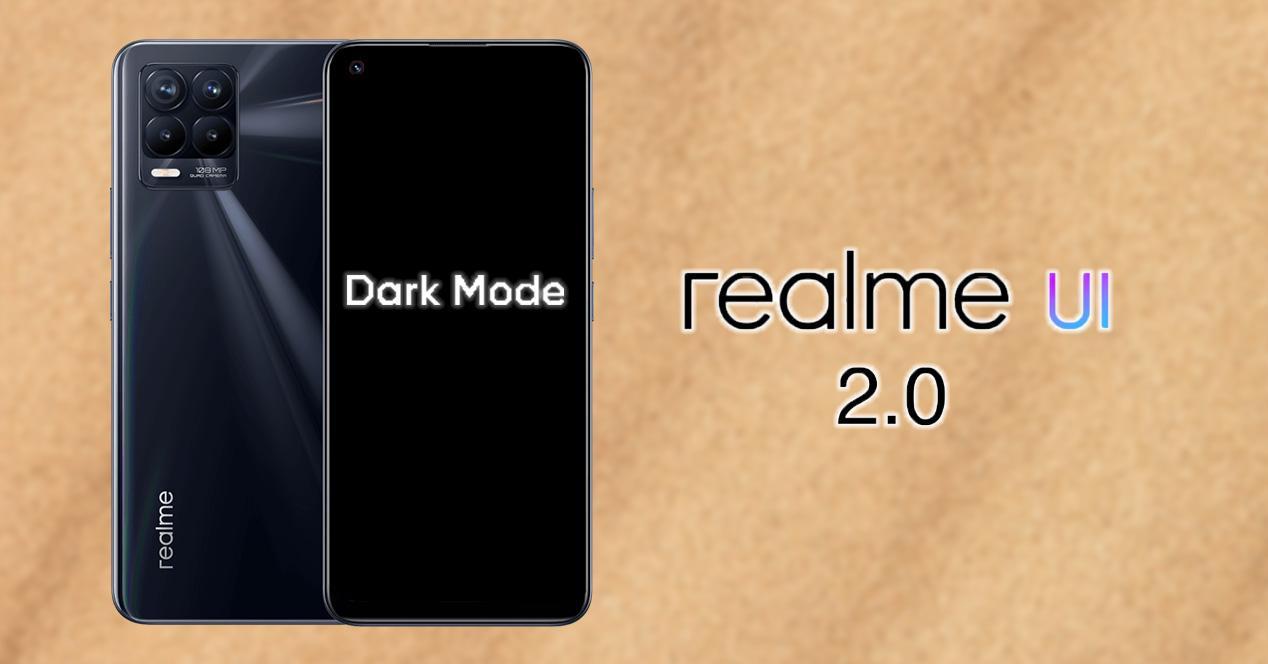 Personalizar Modo oscuro realme UI 2