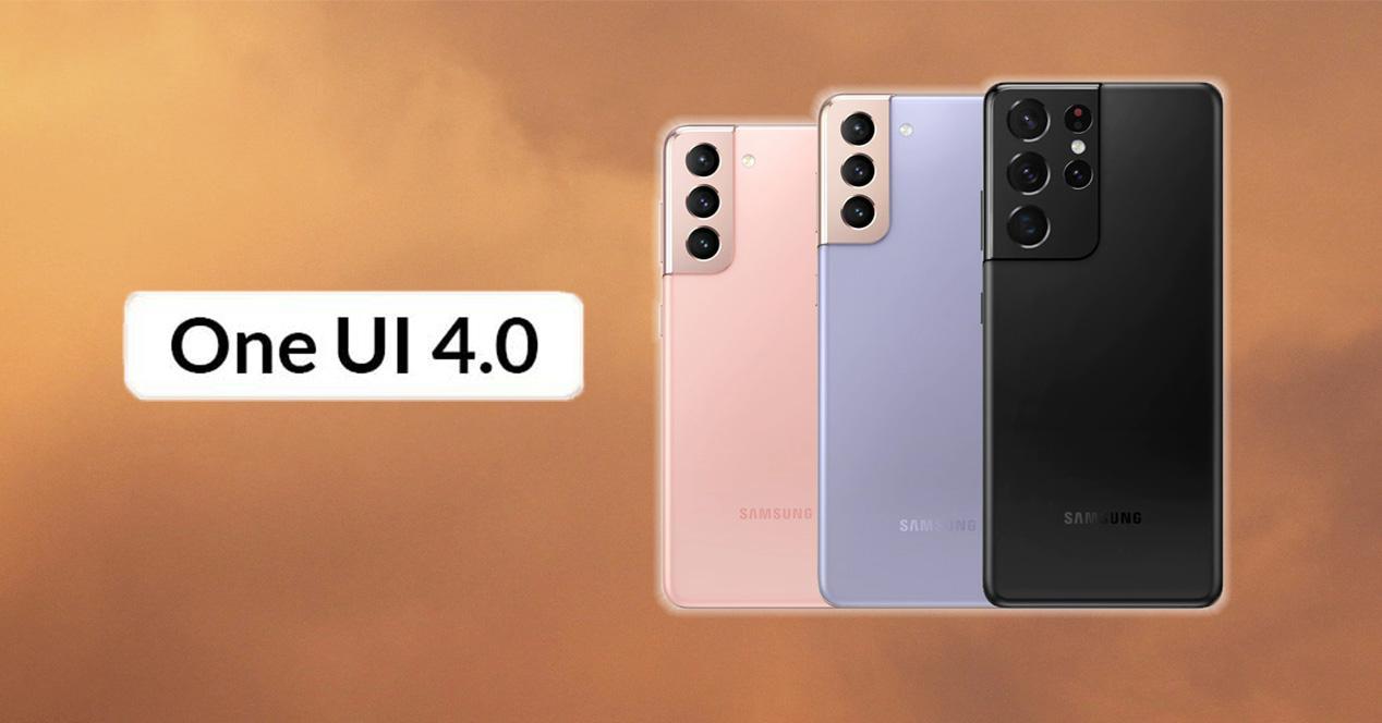 One UI 4 en los Samsung Galaxy S21