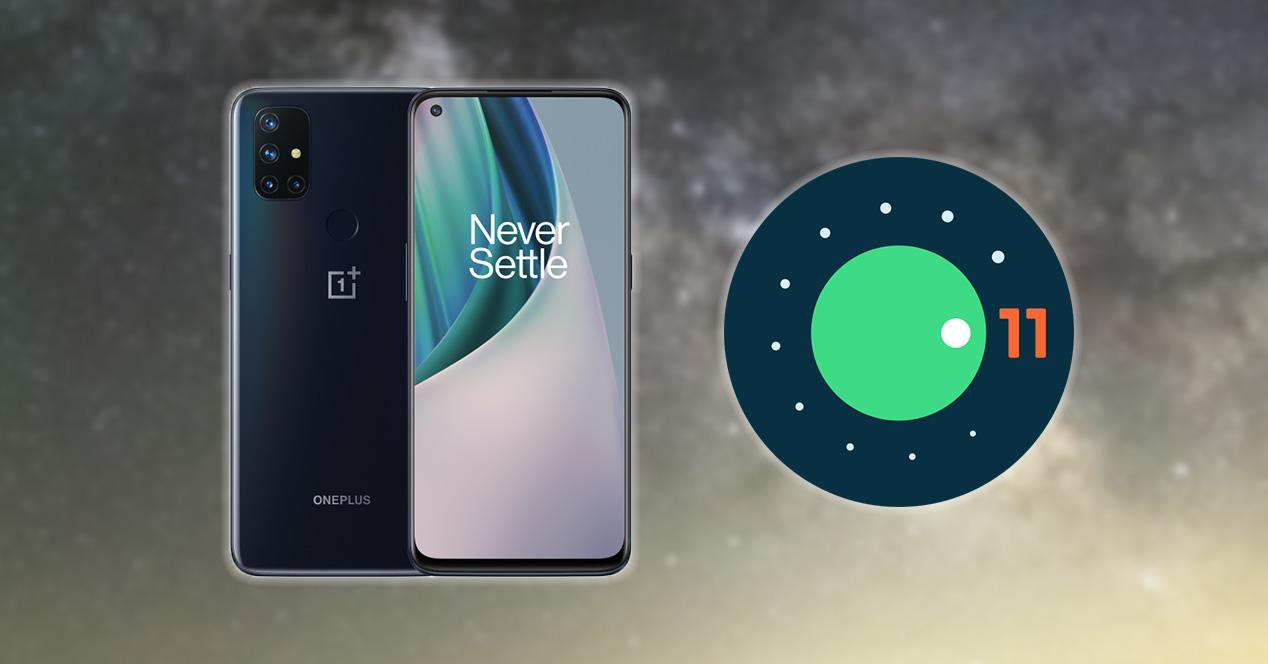 OnePlus Nord 10 5G Android 11
