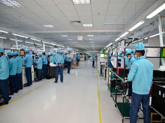 Oppo fábrica