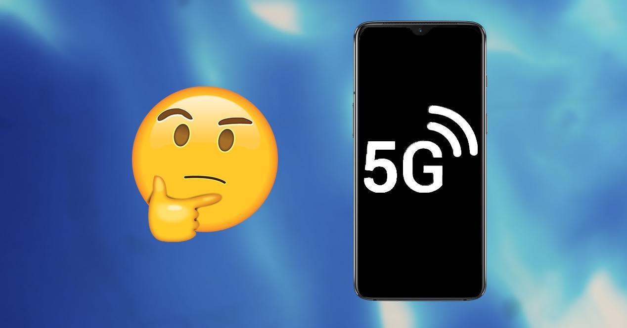 Problema con el 5G en el móvil