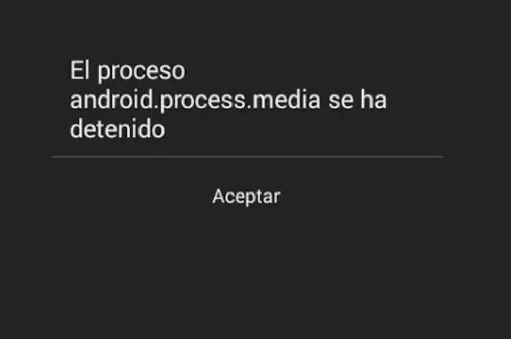 Eroare mobilă Android