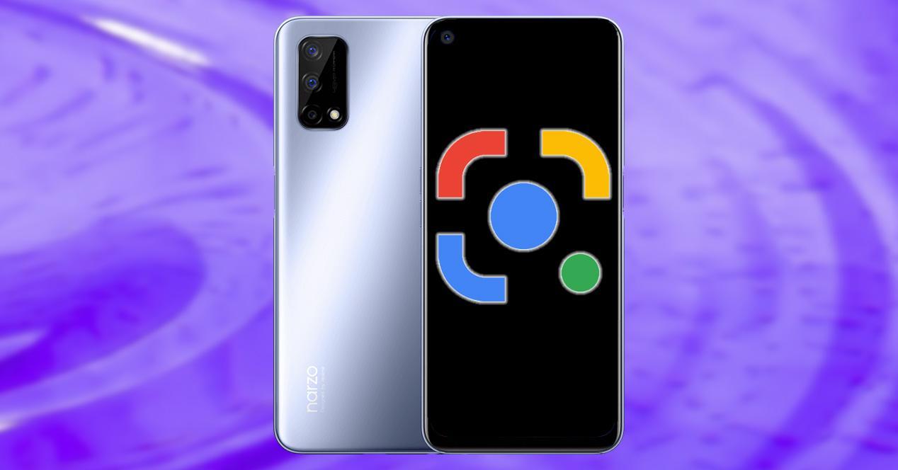 Google Lens en móviles Realme