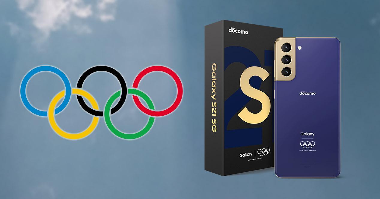 Samsung Galaxy S21 5G de los Juegos Olímipicos