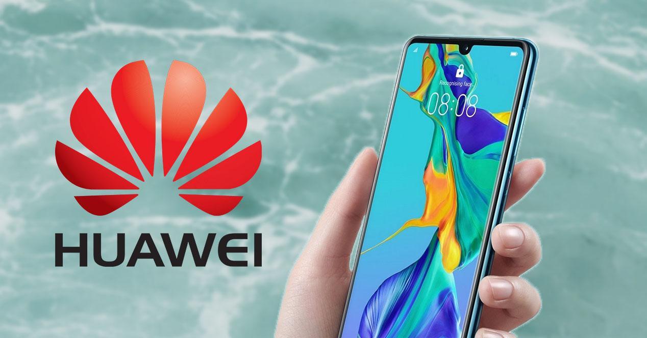 Modo una mano Huawei