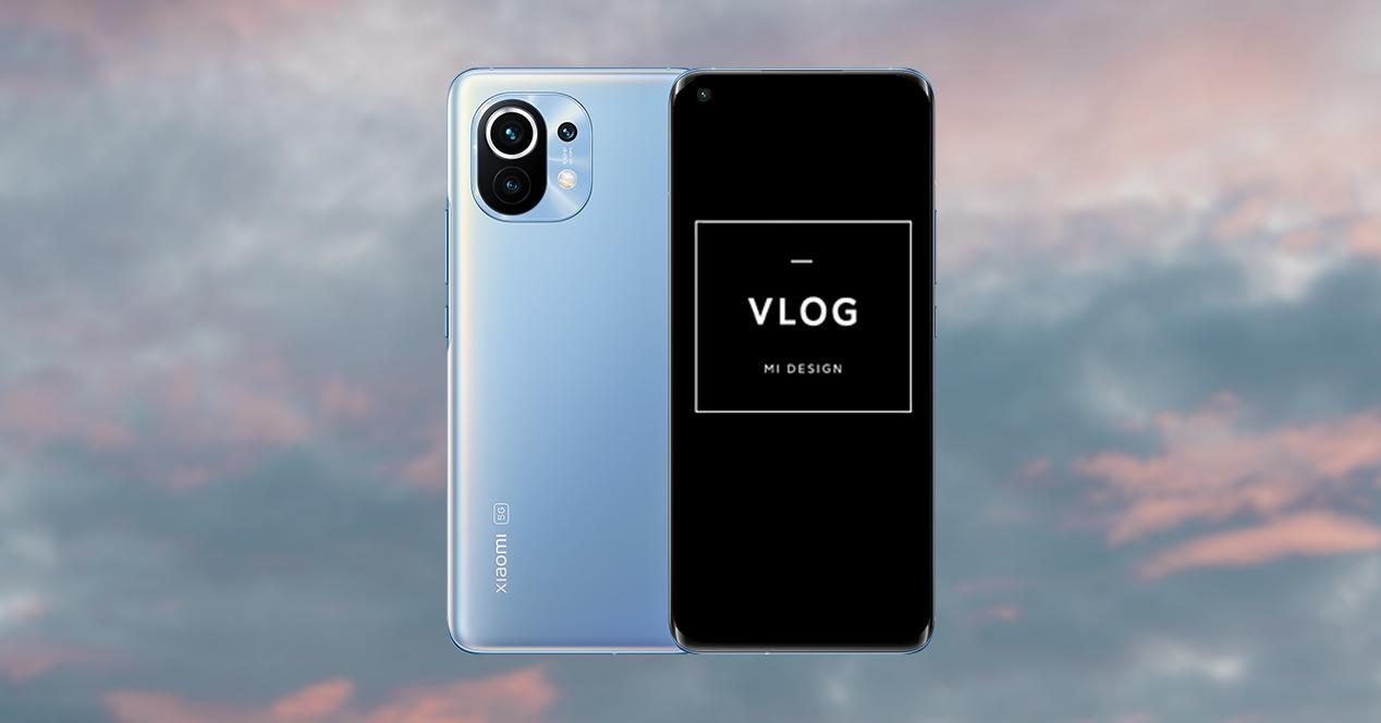 Función VLOG de Xiaomi