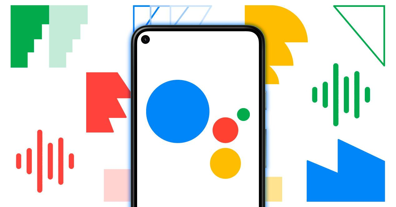 voz google assistant hombre mujer
