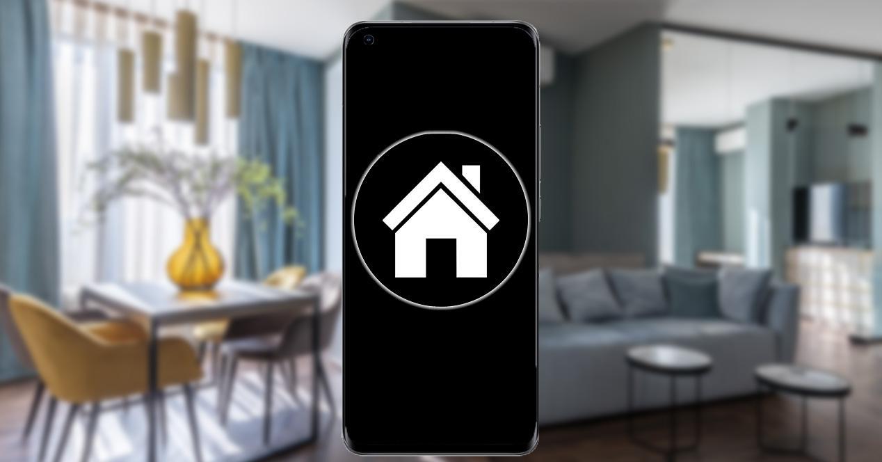 Control del hogar con un móvil Xiaomi