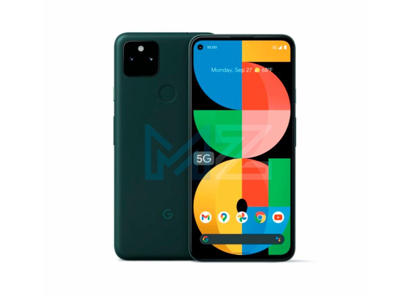 Google Pixel 5a pantalla