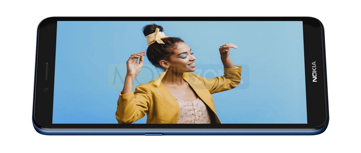 Nokia C3 pantalla