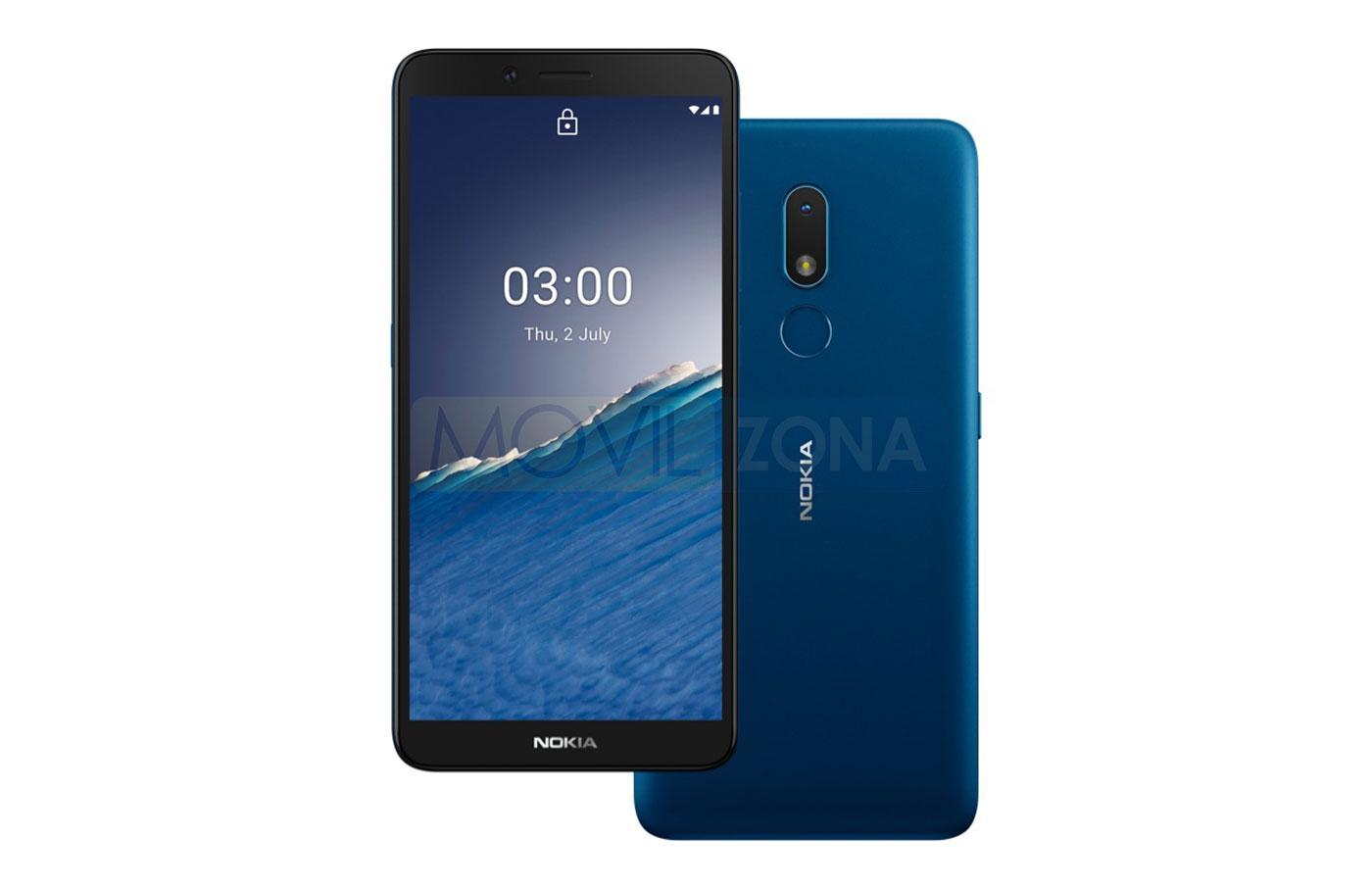 Nokia C3 diseño