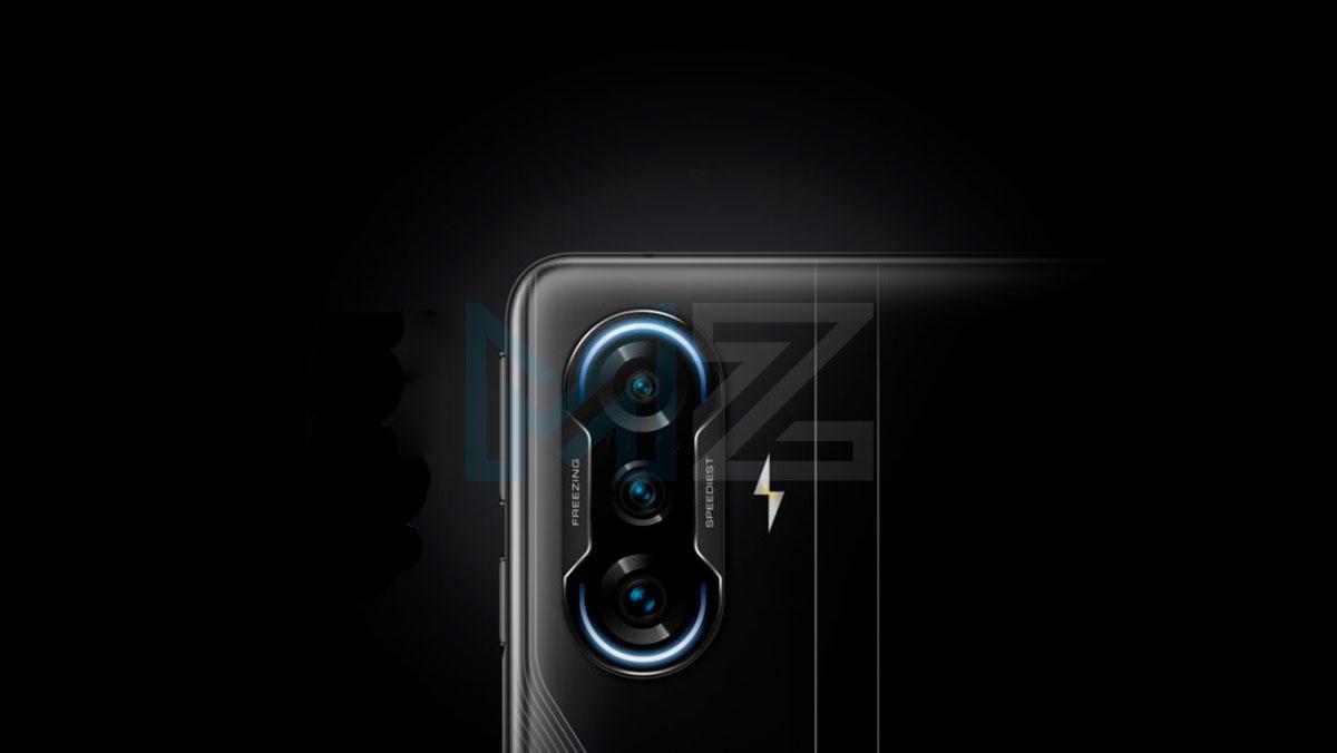 Poco F3 GT cámara
