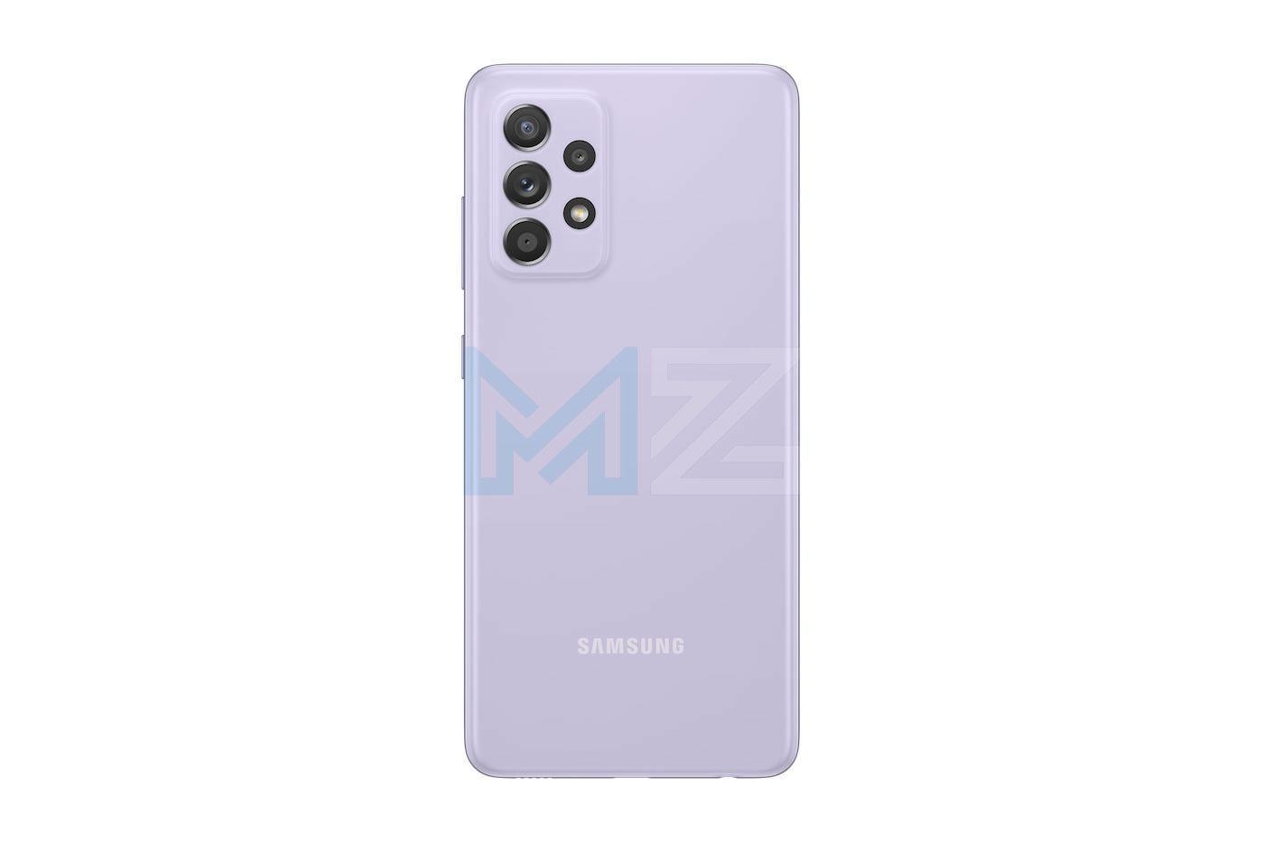 Samsung Galaxy A52s violeta