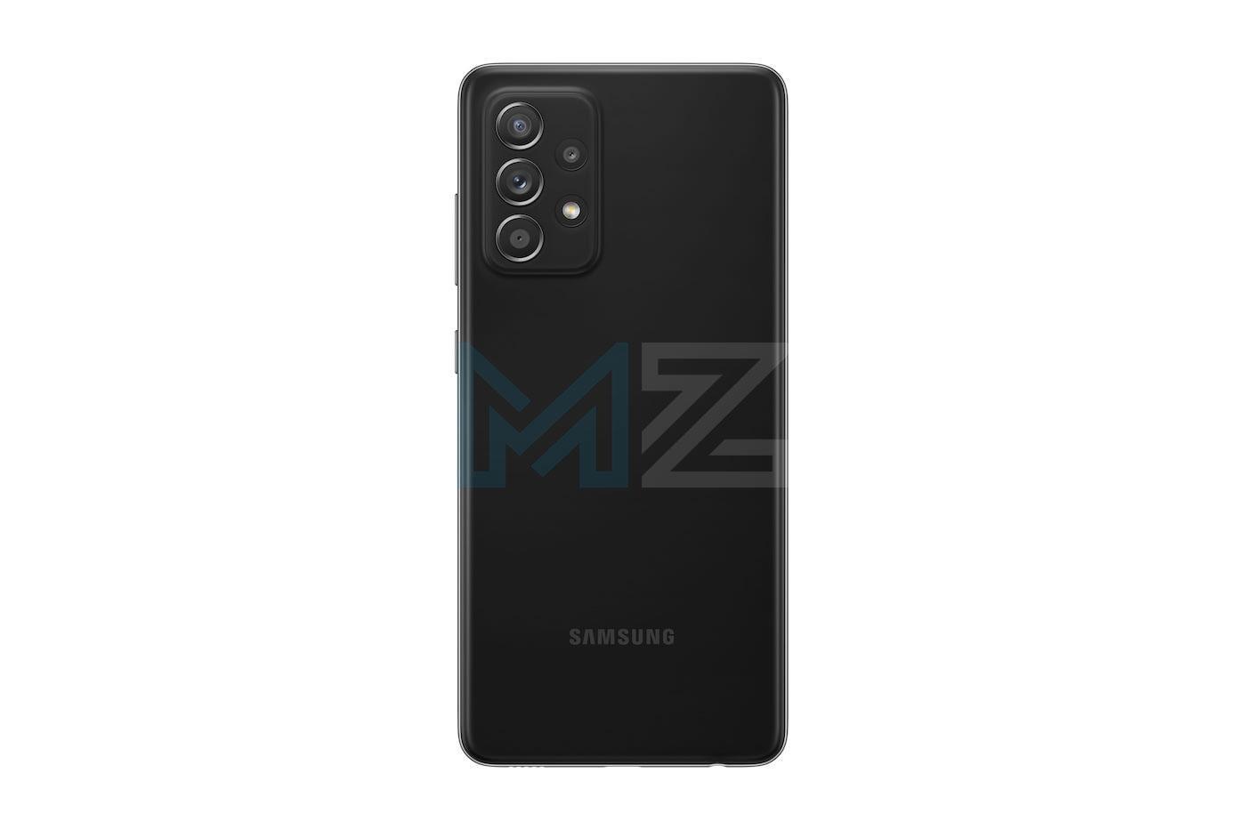 Samsung Galaxy A52s negro