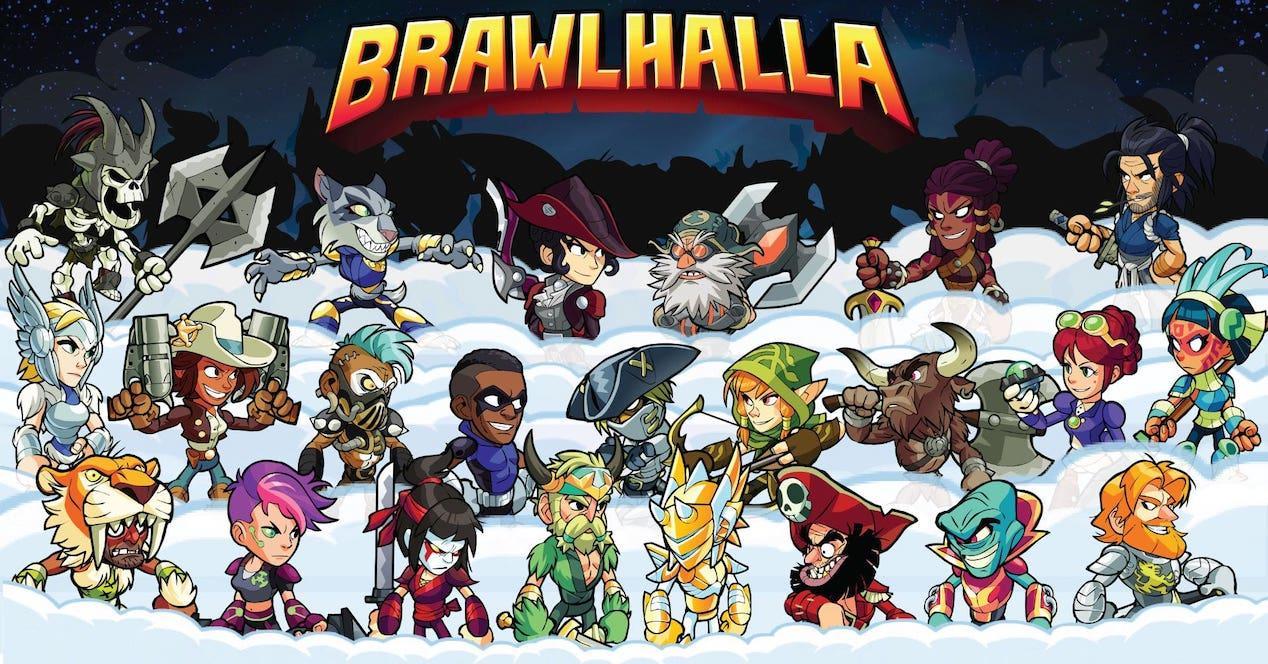 personnages de brawlhalla