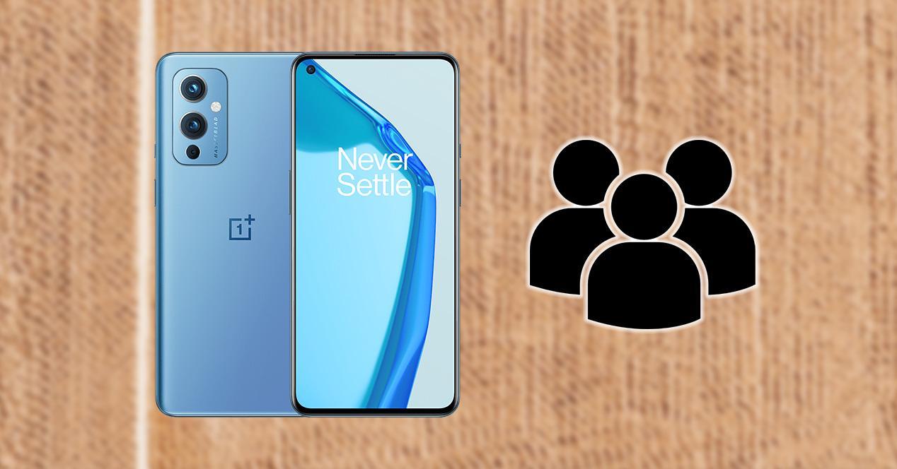 Configurar varios usuarios OnePlus
