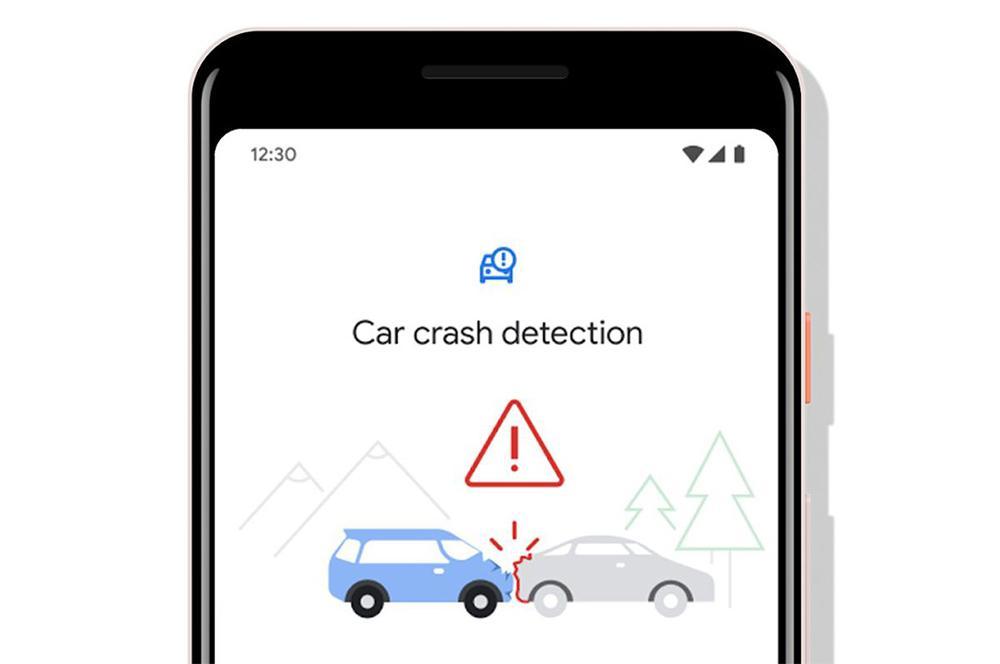 Detector de accidentes de coche en los Google Pixel