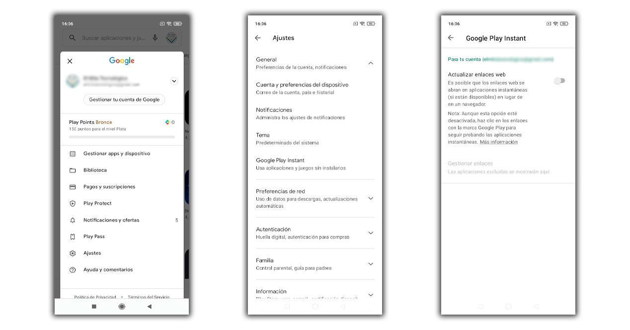 Google Play Instant Juego
