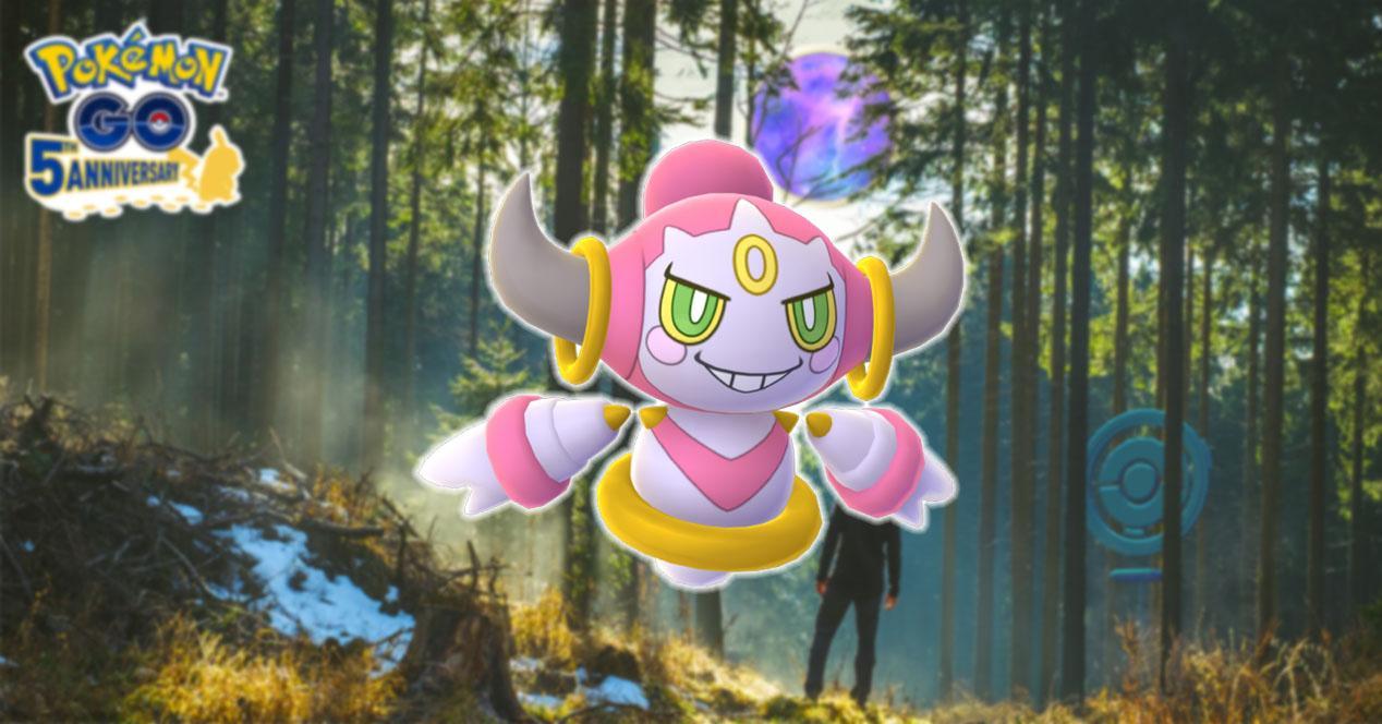 Hoopa en Pokémon GO