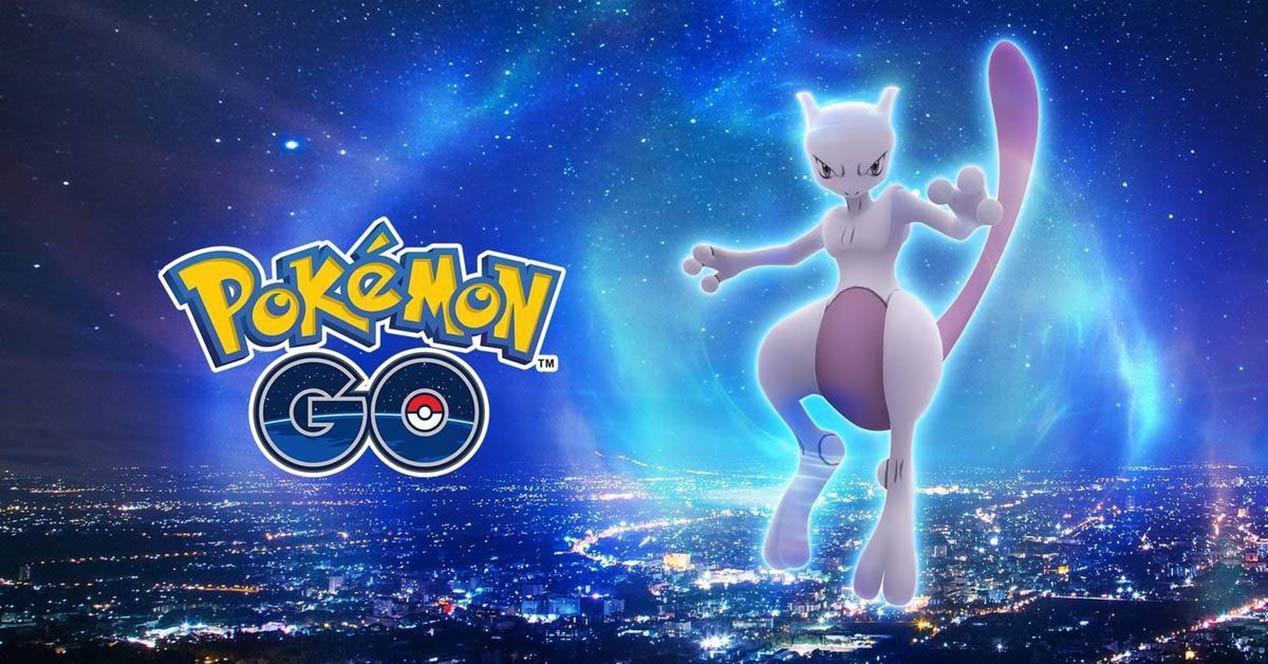 Mewtwo Pokémon GO