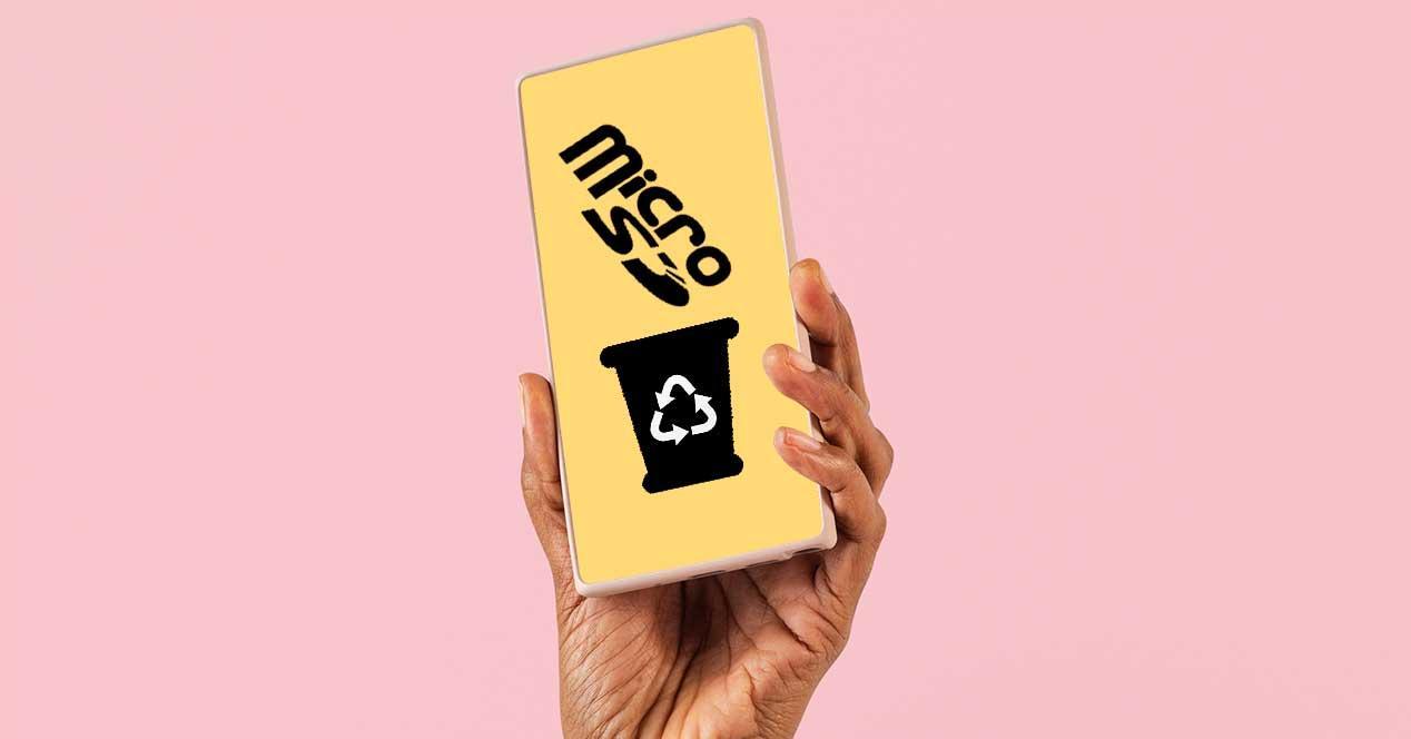móviles tarjetas SD