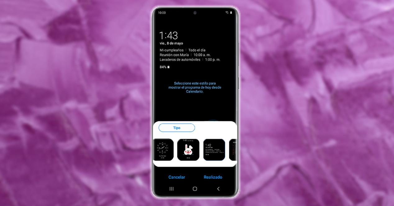 Personalizar pantalla de bloqueo Samsung