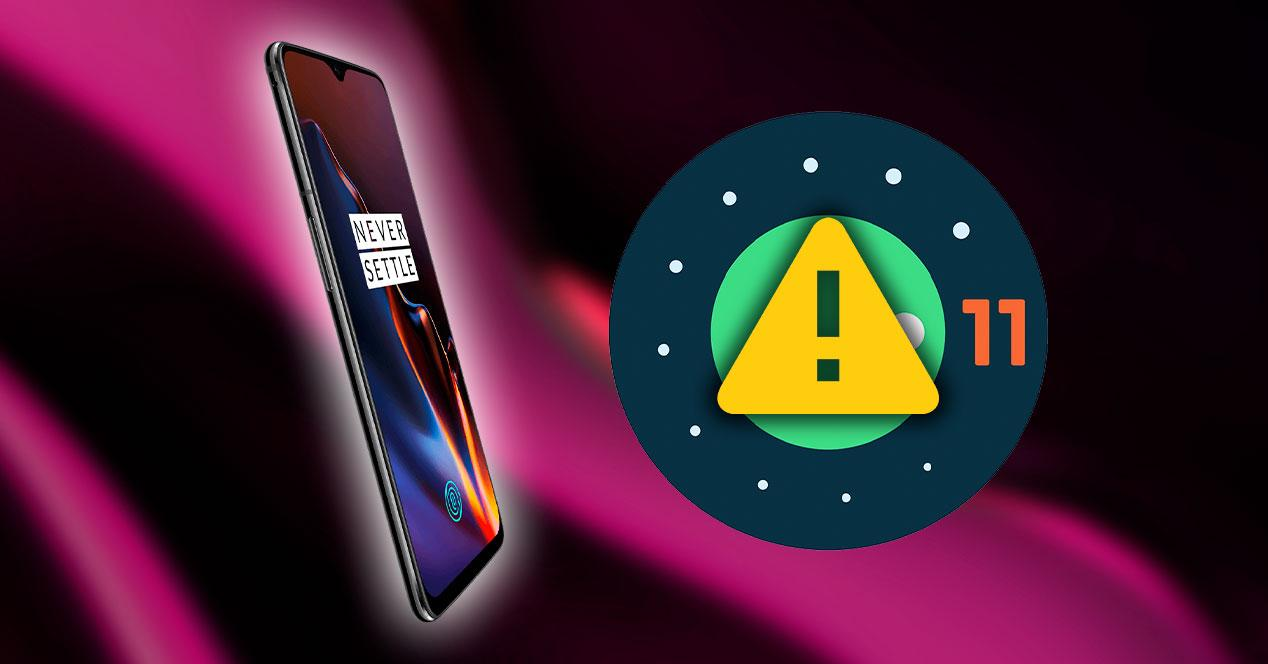 problema oneplus android 11