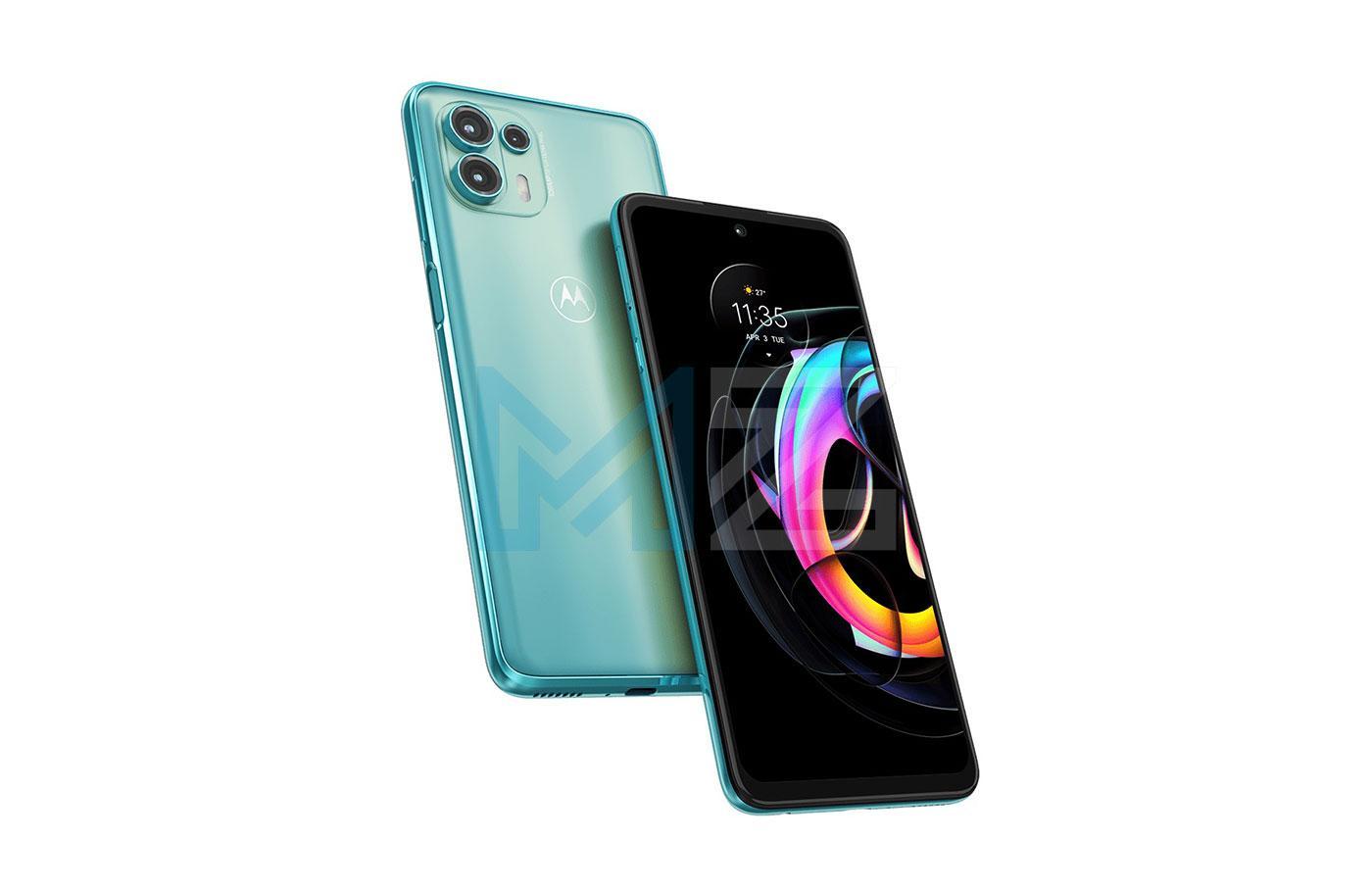 Motorola Edge 20 Lite diseño